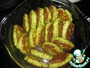 Рецепт Куриные котлеты с цветной капустой и зеленью