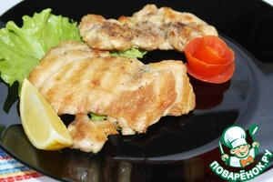 Рецепт Куриные бедра-гриль