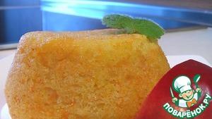 Рецепт Тыквенно-яблочный пудинг