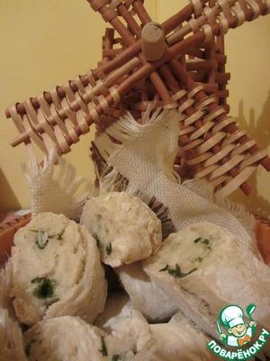 """Рецепт Хлеб """"французский багет"""" облегчённый вариант"""