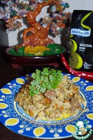 Рецепт Каша из маша и риса (Машкичири)