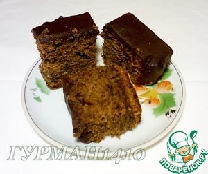 Рецепт Шоколадно-финиковый пирог