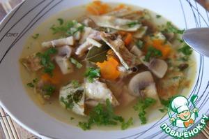 Рецепт Итальянский куриный суп