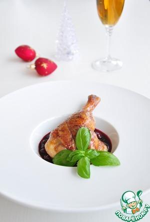 Рецепт Утка в вишневом соусе