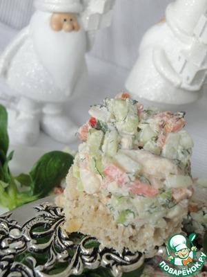Рецепт Тартар из форели с овощами