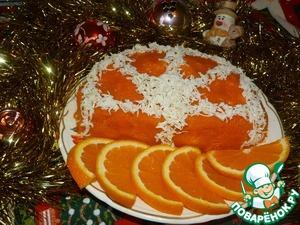 """Рецепт Салат """"Апельсиновая долька"""""""