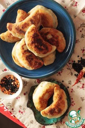 Рецепт Рисовые пирожки с чечевицей и креветками