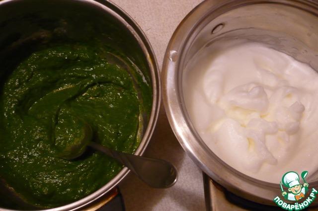 Начинка из шпината рецепт