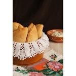 Пирожки из песочного теста с чечевицей и шпинатом