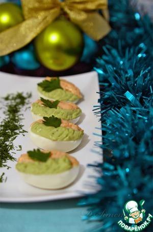 Яйца, фаршированные разноцветными муссами вкусный пошаговый рецепт приготовления с фотографиями как готовить