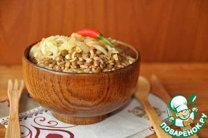 Рецепт Чечевица с рисом (факоризо)