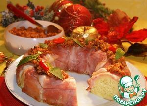 Рецепт Рождественская рисовая бомба
