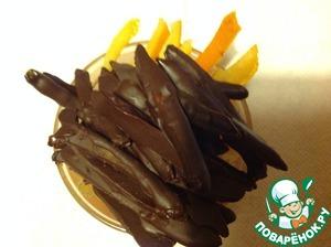 Как приготовить рецепт приготовления с фото Шоколадно-апельсиновые пальчики