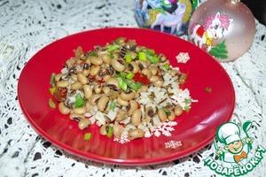 Рецепт Hoppin' John (фасоль с рисом)