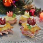 Сэндвичи для праздничного фуршета