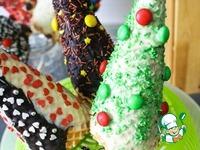 Новогодние сладкие елки ингредиенты