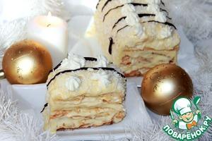 """Рецепт Торт-мороженое """"Подарок Снежной королевы"""""""