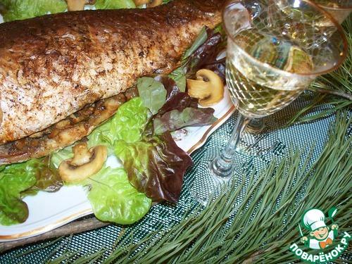 Карп по-чешски в духовке рецепт