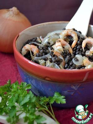 Рецепт Каталонский салат с чечевицей