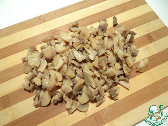 Как приготовить грибные кубики