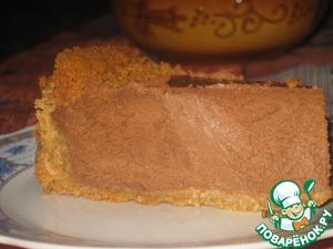 Рецепт Шоколадно-кофейный сырник (чизкейк)