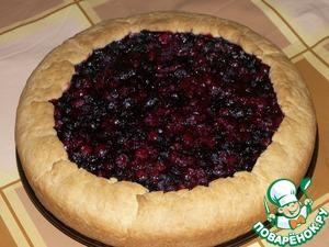 Пирог с ягодами простой рецепт с фотографиями пошагово