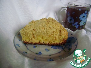 "Рецепт Пирог ""Лимонная бомба"""