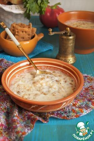 Рецепт Йогуртовый суп по мотивам Эль-Рашуф