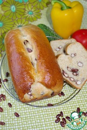 Рецепт Хлеб пшенично-цельнозерновой с фасолью