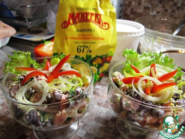 Вкусные салаты в креманках рецепты с простые и вкусные рецепты