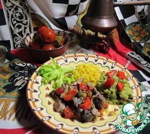 Рецепт Жаркое с овощами по-мароккански