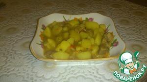Рецепт Картошечка с мясом