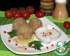 Рецепт Гороховые орешки