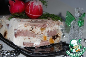 Мясной террин с йогуртом домашний рецепт с фотографиями