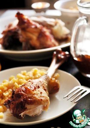 Рецепт Курица с чили и цитрусовой ноткой