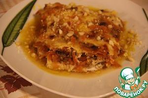 Рецепт Грудка под морковью
