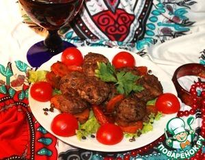 Рецепт Арабские тефтельки из баранины с черной чечевицей в винном соусе