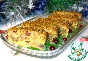 Рецепт Капустная запеканка с фасолью и грецкими орехами