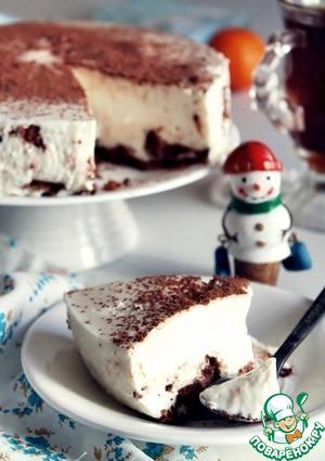 """Рецепт: Торт а-ля """"Чизкейк"""""""