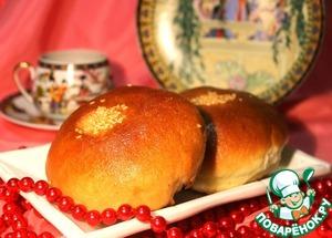 Рецепт Сладкие японские булочки Ан-Пан с фасолью