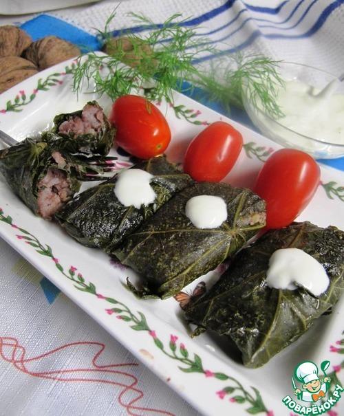 Долма вегетарианская - кулинарный рецепт