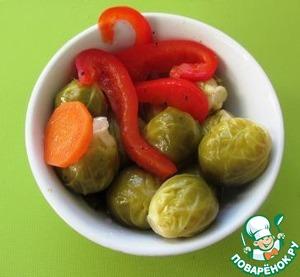 Рецепт Маринованная брюссельская капуста
