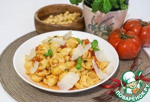 Рецепт Паста с нутом родом из Камподимеле