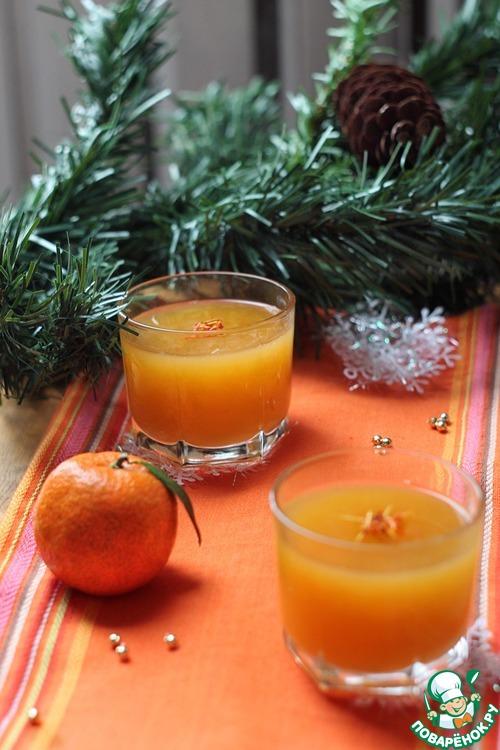 """Желе """"Новогодний мандарин"""""""