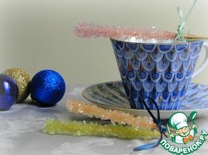 Рецепт Леденцы-кристаллы (идея для подарка)