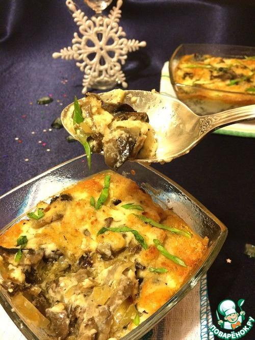 кокот грибной рецепт с фото
