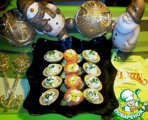Рецепт Закусочный творожный крем с кукурузой