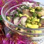 Салат из сельди и горошка