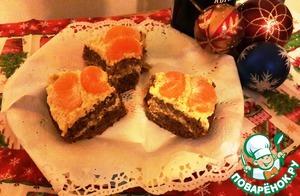 Рецепт Мандариновый торт (в мультиварке)