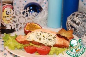 Рецепт Лососевые кармашки с экзотическим соусом